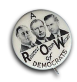 Roosevelt Campaign Pin